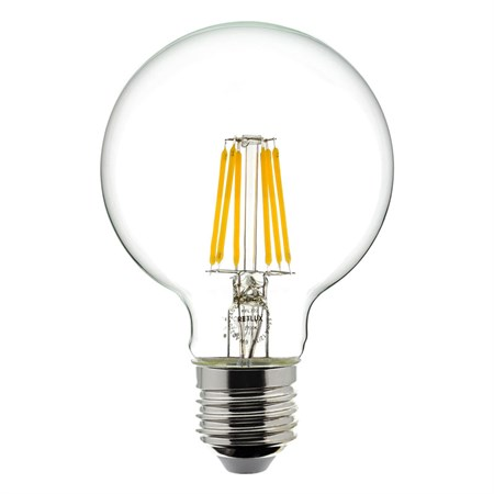 Žárovka LED globe E27 6W RETLUX RFL 222 teplá bílá, filament