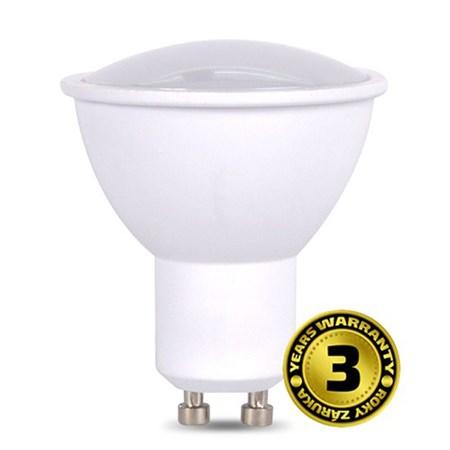 Žárovka LED SPOT GU10 7W bílá přírodní SOLIGHT WZ319A