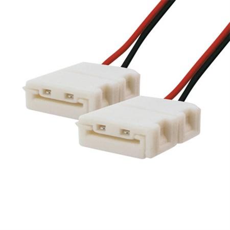 Spojka nepájivá pro LED pásky 5050, 5630 30,60LED/m o šířce 10mm s vodičem