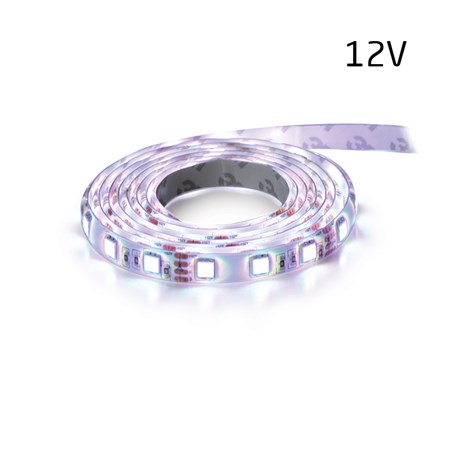 LED pásek 12V 5050  60LED/m IP20 max. 14.4W/m bílá studená (1ks=5cm)