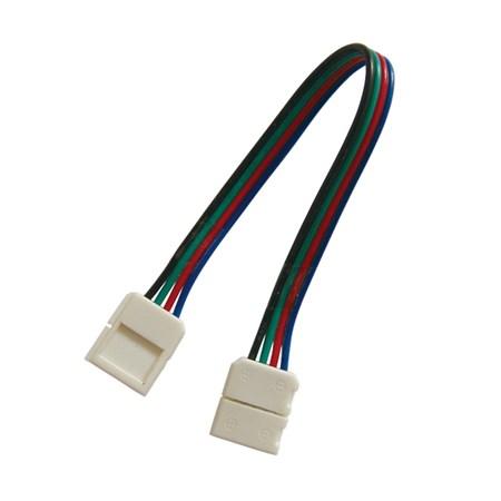 Spojka nepájivá pro RGB LED pásky 5050 30,60LED/m o šířce 10mm s vodičem