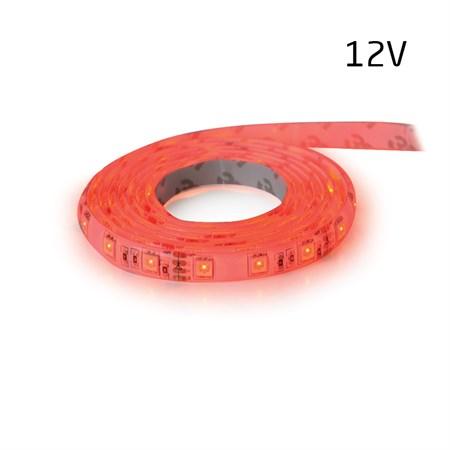 LED pásek 12V 3528  60LED/m IP20 max. 4.8W/m červená (1ks=5cm)