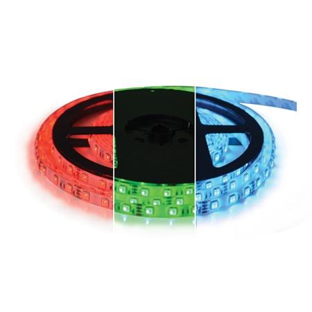 LED pásek 12V 5050  60LED/m IP20 max. 12W/m RGB (1ks=cívka 5m)
