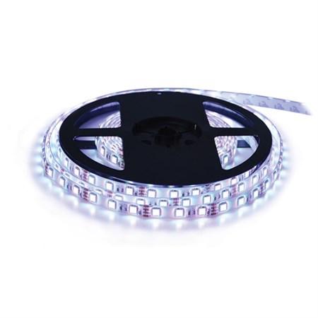 LED pásek 12V 3528 120LED/m IP65 max. 9.6W/m bílá studená (1ks=cívka 5m) zalitý