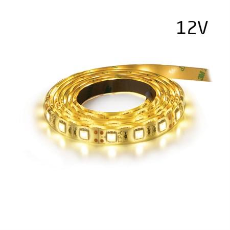 LED pásek 12V 3528 120LED/m IP65 max. 9.6W/m bílá teplá (1ks=2,5cm) zalitý