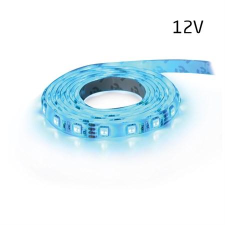 LED pásek 12V 5050  60LED/m IP20 max. 14.4W/m modrá (1ks=5cm)