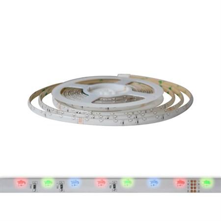 LED pásek 12V 335 (boční)  60LED/m IP65 max. 4.8W/m R-G-B multicolor (1ks=cívka 5m) zalitý