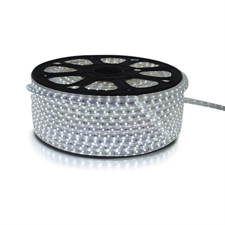LED pásek 230V, 5050  60LED/m IP67 max. 14.4W/m STUDENÁ, cena za 1m, zalitý