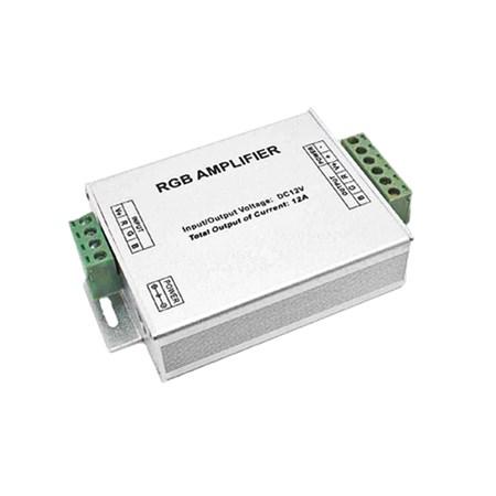 RGB zesilovač pro buzení RGB stripů 3x4A