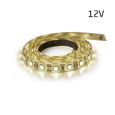 LED pásek 12V 5630  60LED/m IP65 max. 12W/m bílá přírodní (1ks=5cm) zalitý (Sanan čip)