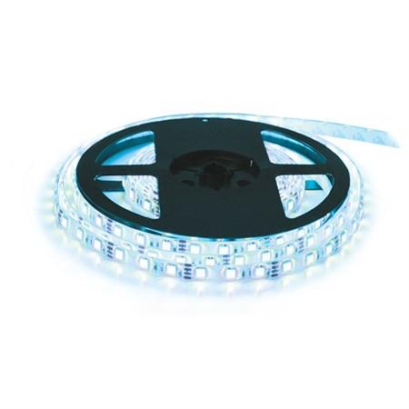 LED pásek 12V 3528 120LED/m IP65 max. 9.6W/m ice blue (cívka 10m)