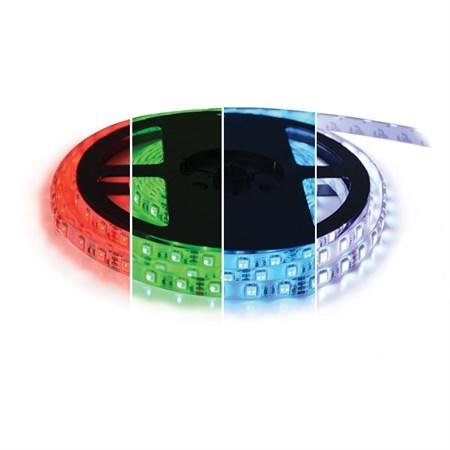 LED pásek 12V 5050  60LED/m IP67 max. 14.4W/m RGBW bílá studená 5 m zalitý