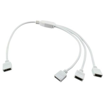 Rozbočovací kabel Y pro RGB s konektory, 4p, 1+3x zásuvka