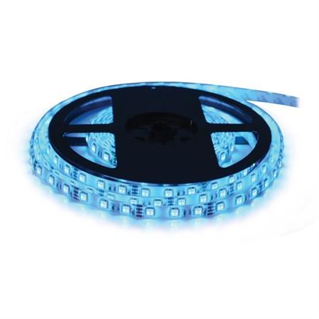 LED pásek 12V 3528  60LED/m IP20 max. 4.8W/m modrá, magnetický (1ks=cívka 5m)