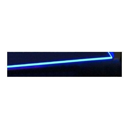 Klips LED na sklo modrá 2x 10 cm + adaptér