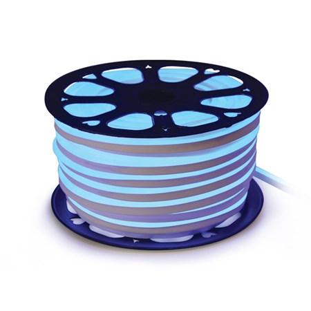 LED neon flexi hadice 230V 92LED/m 7W/m modrá (1m)