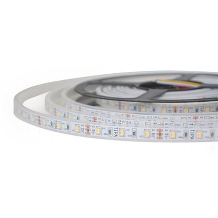 LED pásek 12V 2835  120LED/m IP65 max. 12W/m variabilní (W+N+C), (1ks=cívka 5m) zalitý