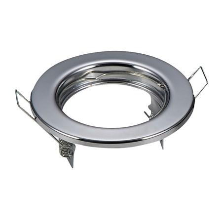 Svítidlo podhledové pevné chrom pro žárovku MR,GU (2ks)
