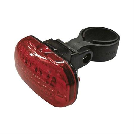 Svítilna na kolo zadní 3 LED diody  2xAAA