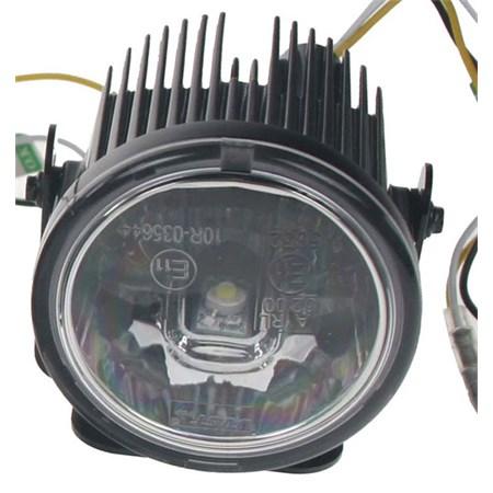 Světla pro denní svícení LED DRL001/3W, homologace