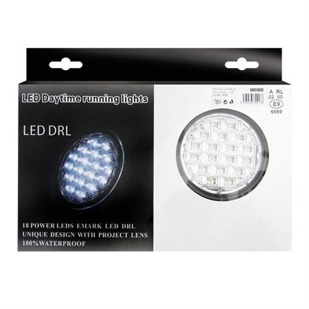 Světla pro denní svícení LED DRL019/pir, homologace