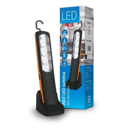 Svítilna nabíjecí 4 x 1W LED pracovní svítilna