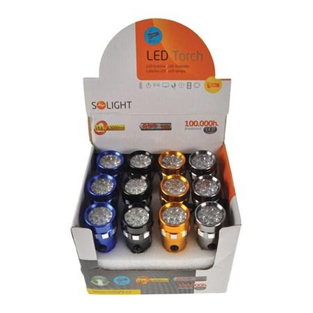 Svítilna LED (14 LED)  se šňůrkou (3xAAA) WL25