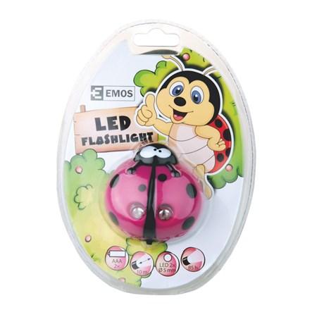 Svítilna  čelovka LED    beruška
