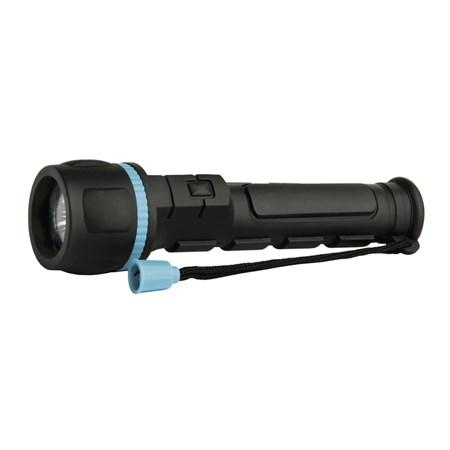 LED svítilna plastová, 3x LED, na 2x AA