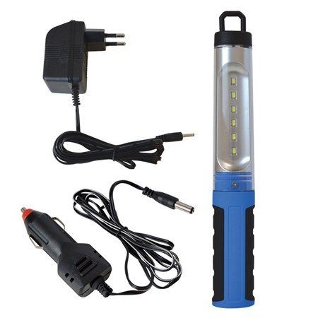 TIPA Svítilna montážní LED SN02, nabíjecí, 6 LED
