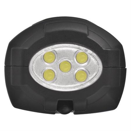 Nabíjecí svítilna LED P4525, 5W COB LED