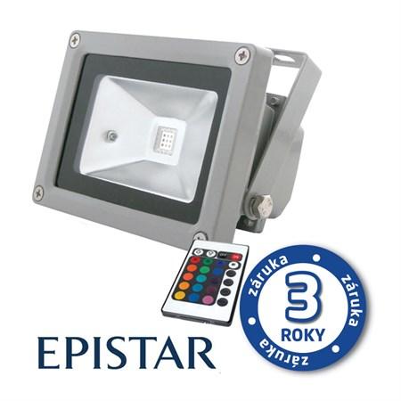 LED reflektor venkovní  30W RGB  EPISTAR, MCOB, AC 230V, šedý