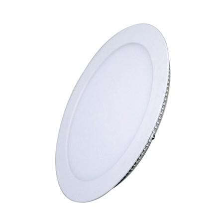 LED mini panel podhledový 6W, 400lm, 3000K, tenký, kulatý, bílé WD101 SOLIGHT