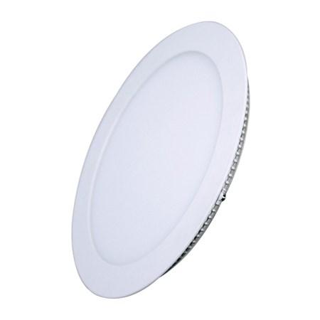 LED mini panel podhledový 18W, 1530lm, 3000K, tenký, kulatý, bílé WD109 SOLIGHT
