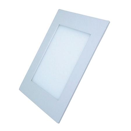 LED mini panel podhledový, 18W, 1530lm, 3000K, tenký, čtvercový, bílé WD111 SOLIGHT