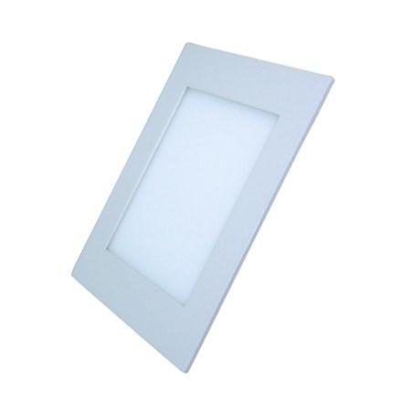 LED mini panel podhledový 6W, 400lm, 4000K, tenký, čtvercový, bílé WD104 SOLIGHT