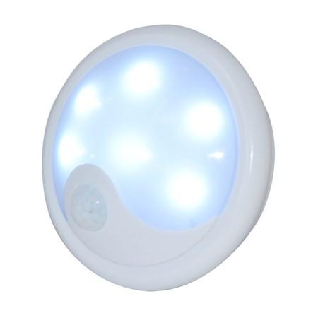 TIPA Noční LED světlo s PIR senzorem 4xAA, UFO01