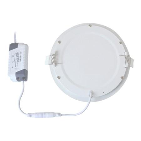 TIPA LED mini panel podhledový, 6W, 3000K-teplá, kulatý, PP02