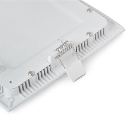 TIPA LED mini panel podhledový, 18W, 3000K-teplá, čtvercový, PP09