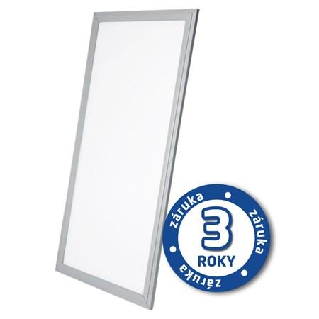 TIPA LED panel, 40W, 30x120cm, 2900lm, 4000K, stříbrný rám, LP03