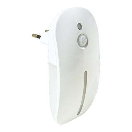 Noční LED svítidlo s pohybovým a světelným senzorem