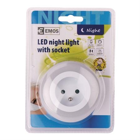 Noční světlo do zásuvky 230V, 3x LED