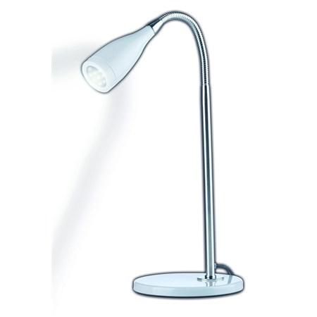 Stolní lampička 11xLED bílá