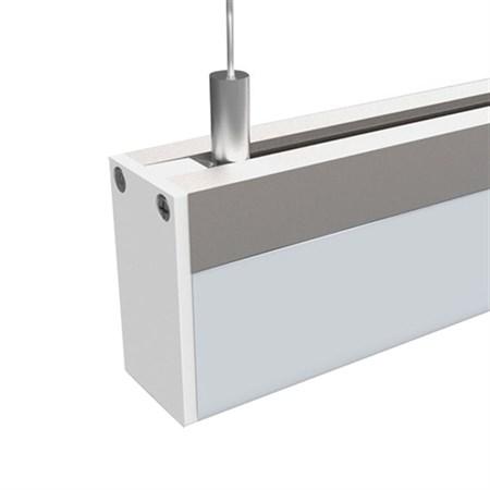 LED závěsné osvětlení,15W, 960lm, 4000K, 100cm, hranol WO602