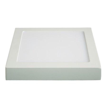 LED panel přisazený, 24W, 1800lm, 3000K, čtvercový, bílý SOLIGHT WD122