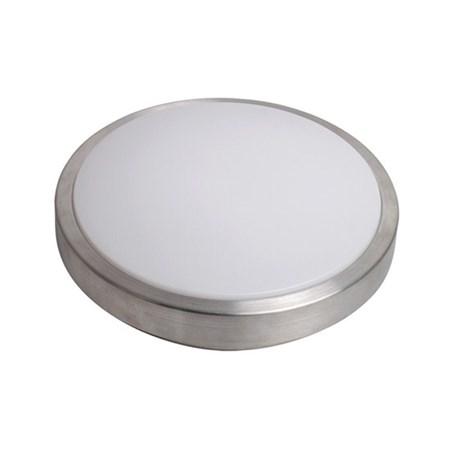 LED stropní světlo stříbrné, 20W, 1400lm, 3000K, 39cm SOLIGHT WO520