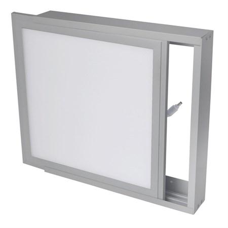 Rámeček pro LED panely 30x120cm, stříbrný