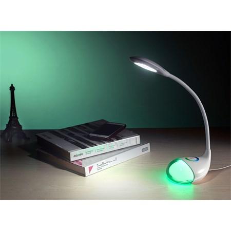 Svítidlo  stolní LED lampa Q10 se světelným efektem RGB, 5W