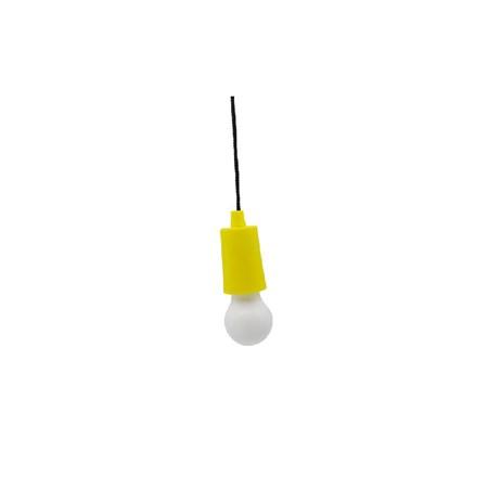 Svítilna LED kempingová Kempy-Bulb - žlutá