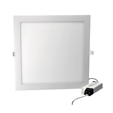 LED mini panel, podhledový, 24W, 1800lm, 3000K, tenký, čtvercový, bílé WD125 SOLIGHT